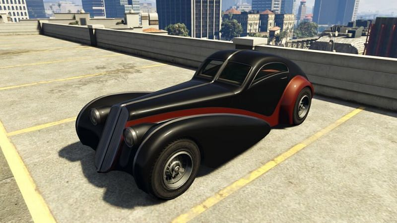 Z-type is the 2nd fastest car in GTA 5
