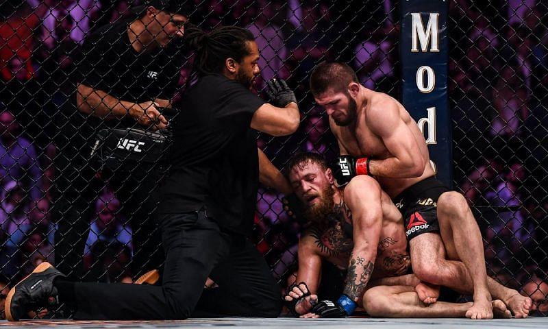 Khabib Nurmagomedov defeated Conor McGregor at UFC 229