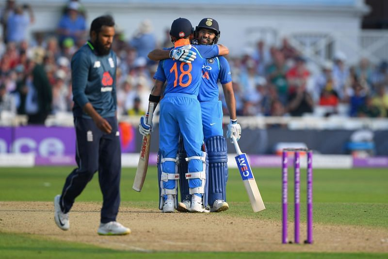 Virat Kohli and Rohit Sharma will be in action against England