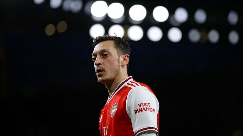 Arsenal playmaker Mesut Ozil is yet to play for the North Londoners this season