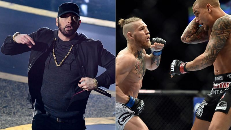 UFC has released a promo for Conor McGregor vs. Dustin Poirier fight featuring Eminem