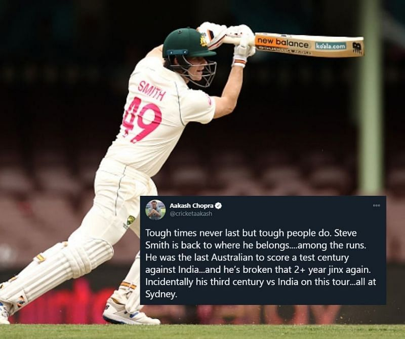 Steve Smith scored his 27th Test ton at Sydney