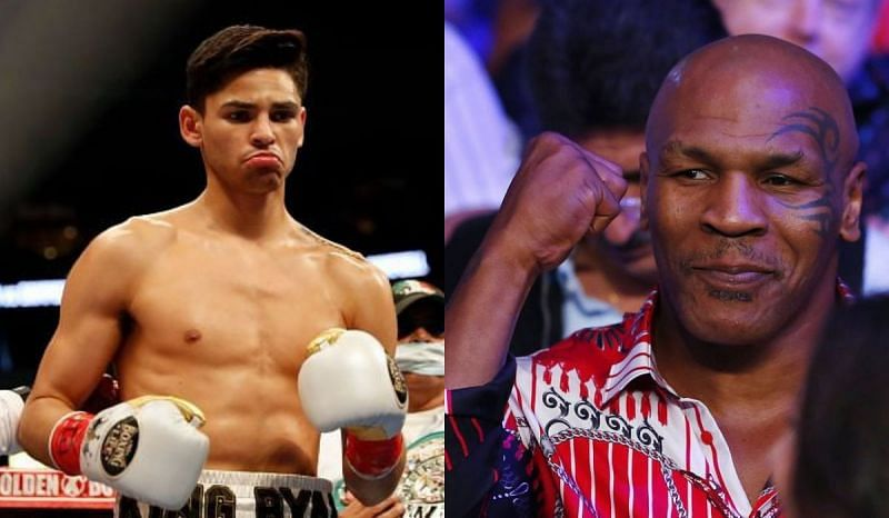 Ryan Garcia received pieces of advice from boxing legend Mike Tyson