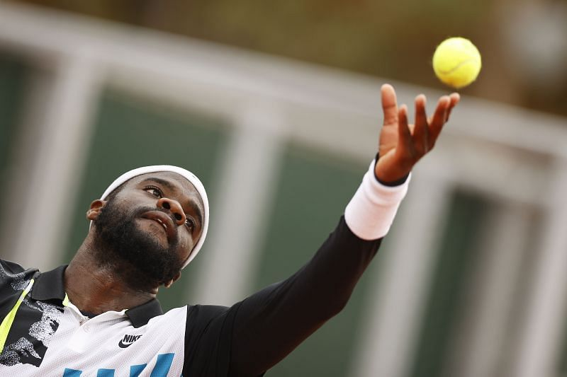 Frances Tiafoe at the 2020 French Open
