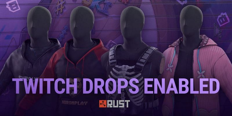 Rust Twitch drops are now available