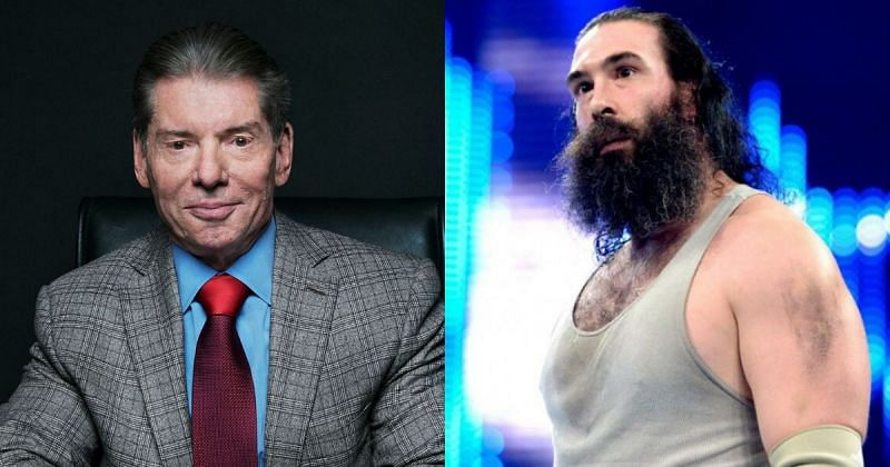 Vince McMahon and Brodie Lee.