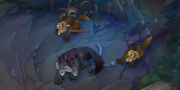 Wild Rift Murk Wolves