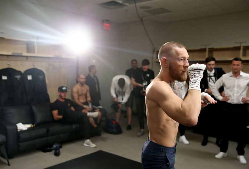Conor McGregor preparing for his fight against Floyd Mayweather