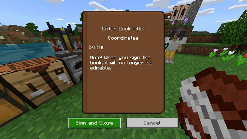 Cover of Minecraft book