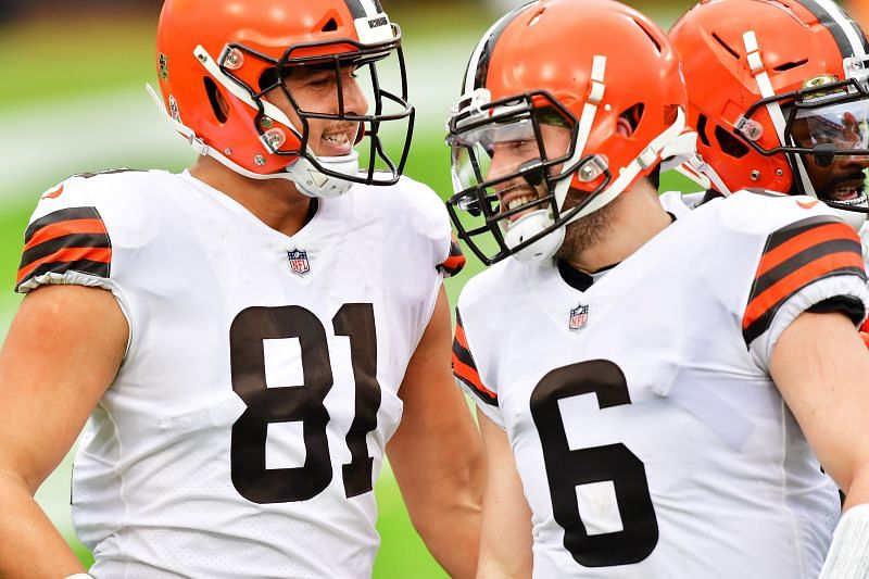 Cleveland Browns tight end Austin Hooper