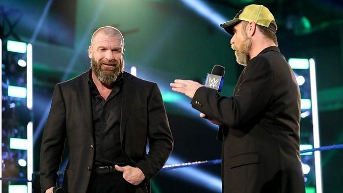 Reason why Triple H and Shawn Michaels' idea was used in