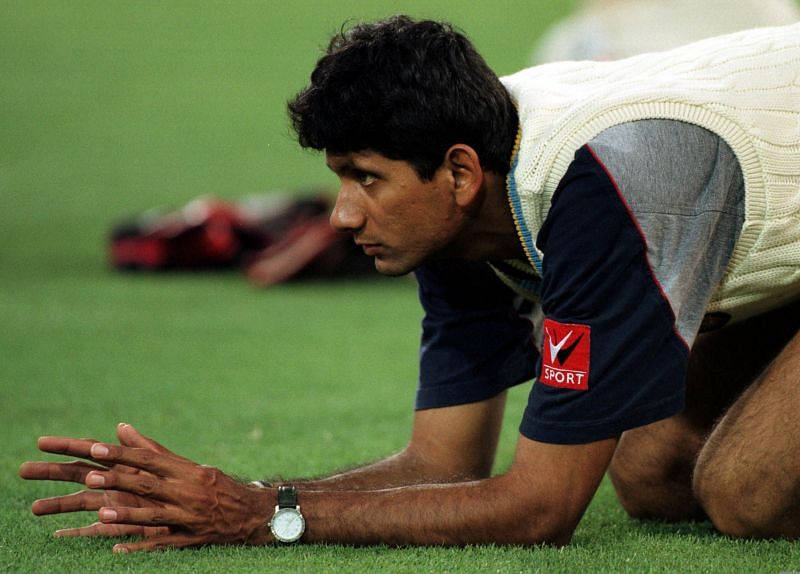 Venkatesh Prasad scalped his first five-wicket haul against England