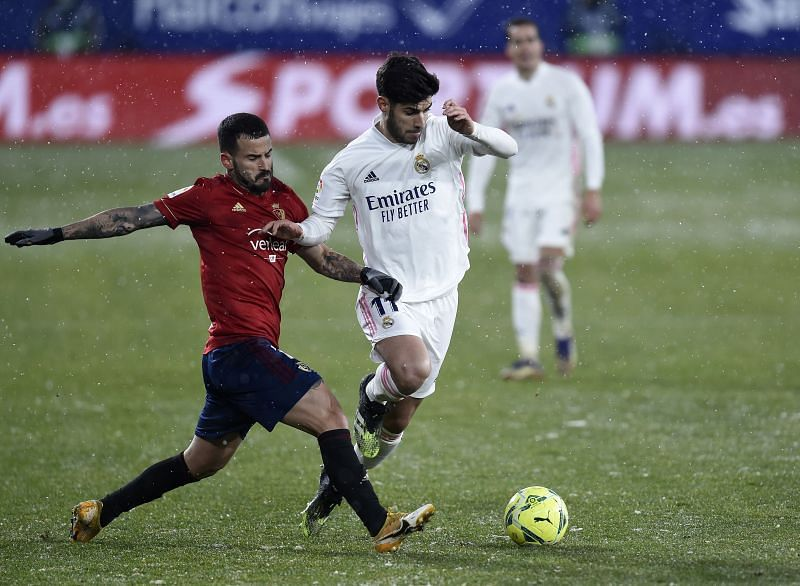 Real Madrid and Osasuna played out a goalless draw on Saturday