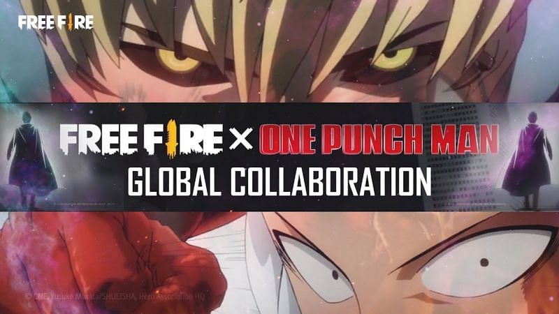 One Punch Man is a famous Japanese superhero franchise (Image via Garena Free Fire / YouTube)