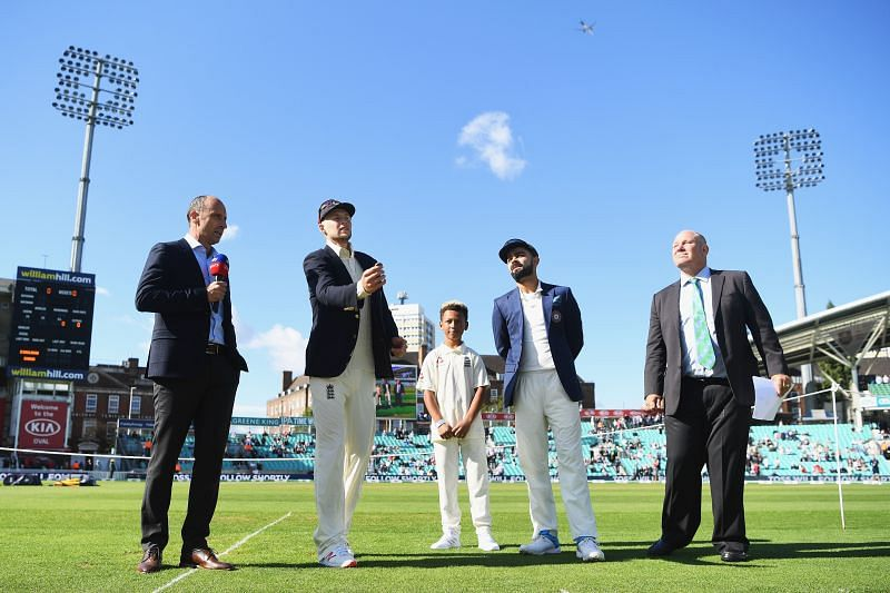 Virat Kohli will lead the Indian cricket team against Joe Root