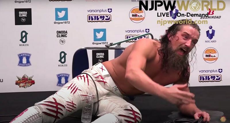 """Switchblade"" Jay White suffers another pinfall loss in what may be his final match in NJPW."