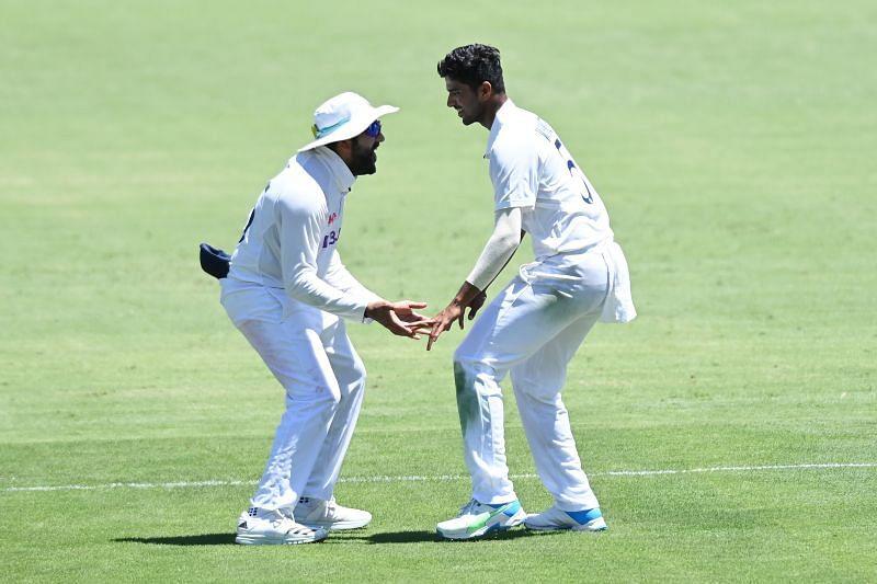 Washington Sundar had taken three wickets in Australia