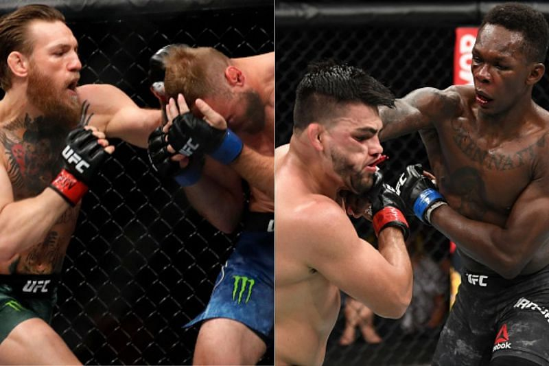 Conor McGregor and Israel Adesanya are one of the best strikers in the UFC