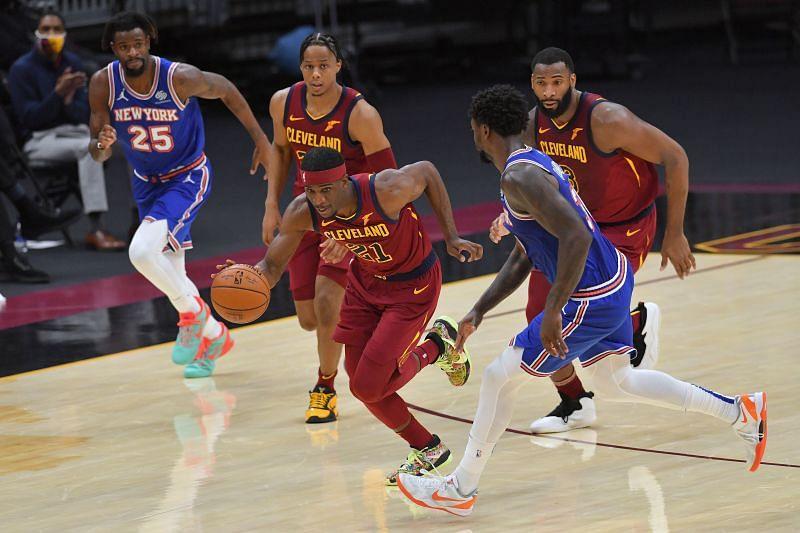 Cleveland Cavaliers guard Damyean Dotson