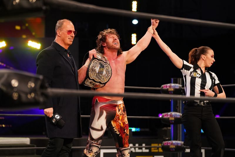 Kenny Omega and Rey Fenix had a really exciting match