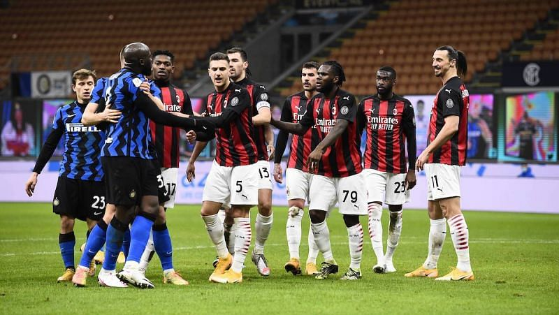 Inter Milan claim the spoils of a heated, 228th Milan derby
