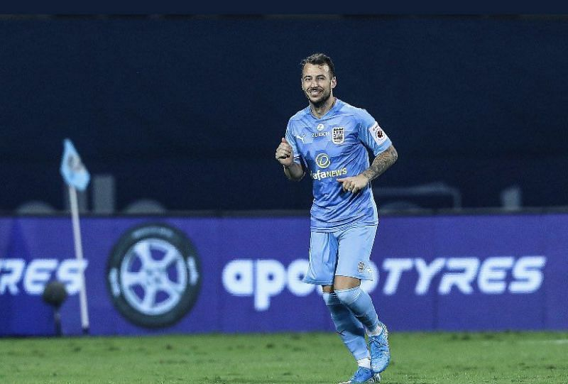 Adam Le Fondre is the highest goal-scorer for Mumbai City FC in the ongoing ISL season. (Image: ISL)
