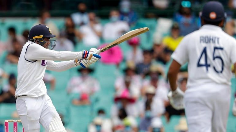 Shubman Gill and Rohit Sharma put up their second 50-run stand in the SCG Test.