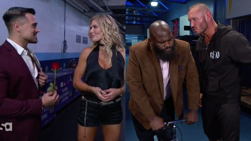 Torrie Wilson and Mark Henry on WWE RAW Legends Night