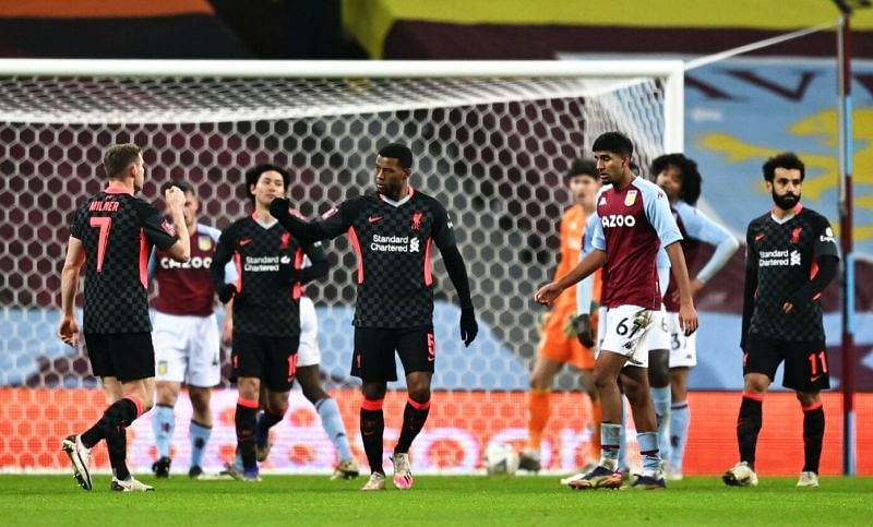 Liverpool huffed and puffed but eventually beat a much-weakened Aston Villa side