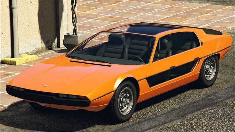 The Pegassi Toreador in GTA Online (image via GTA Fandom Wiki)