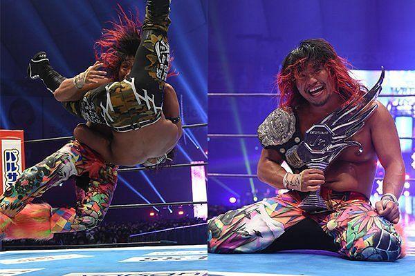 Hiromu Takahashi is the new IWGP Jr. Heavyweight Champion