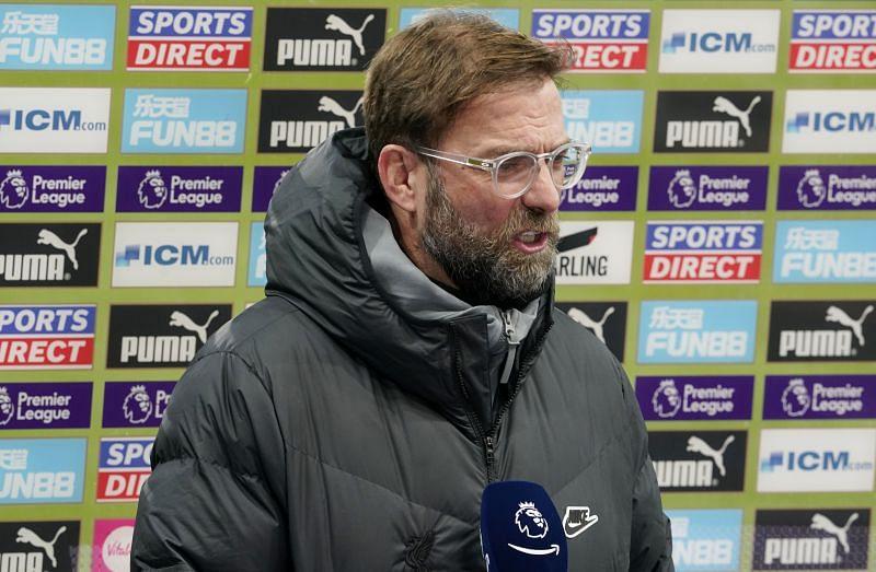 Jurgen Klopp brought up Manchester United