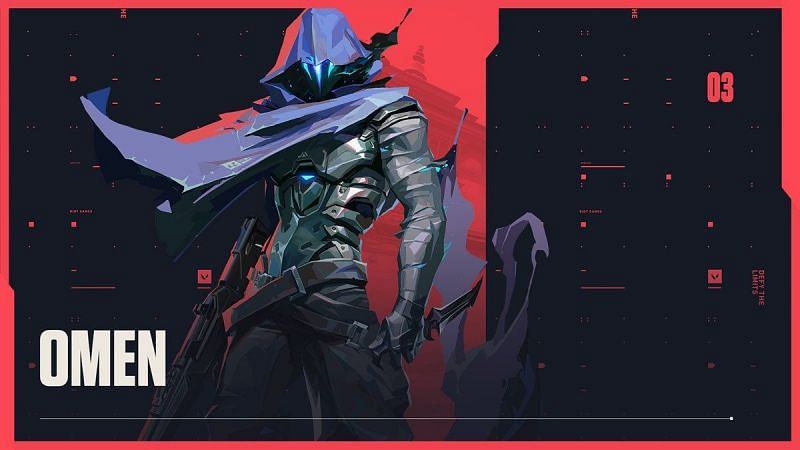 Omen is easily one of the most feared Valorant agents (Image via Riot Games)
