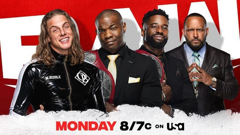 If Riddle wants another WWE United States Championship match against Lashley he must earn it in a Hurt Business Gauntlet match on RAW.