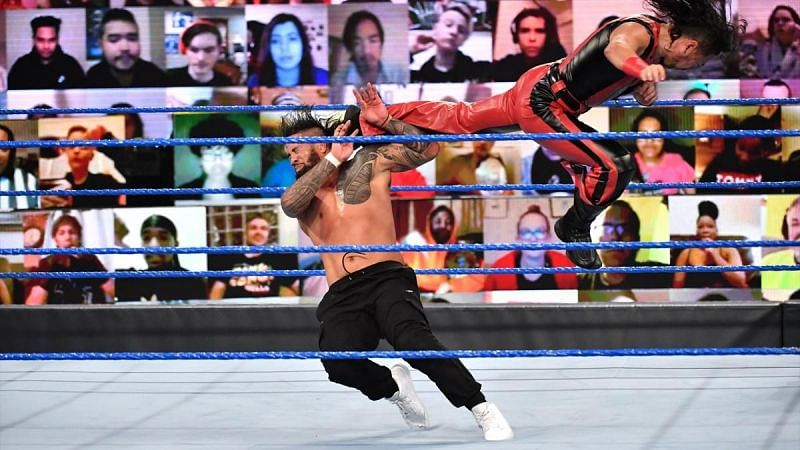 A great start to SmackDown