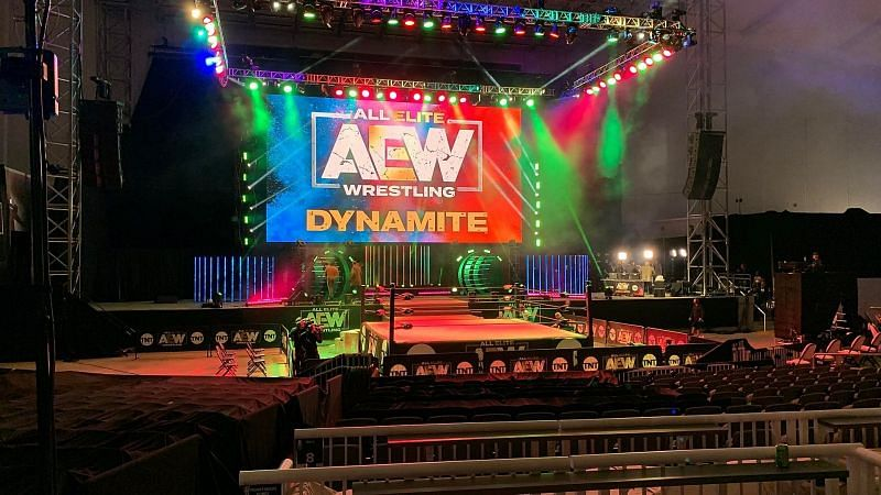 It looks like AEW will be moving to a warmer location to film their television in February.