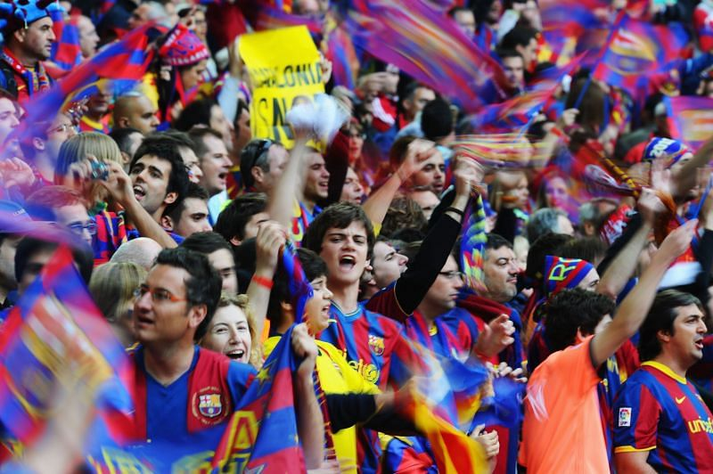 Barcelona fans are divided when it comes to Lionel Messi
