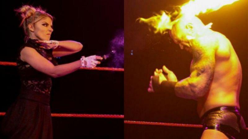 इस हफ्ते WWE RAW में एलेक्सा ब्लिस ने वापसी करते हुए रैंडी ऑर्टन पर फायरबॉल से हमला किया था।