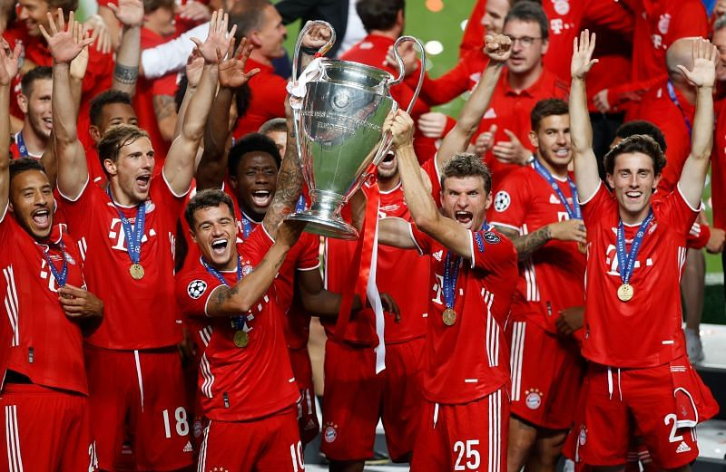 Bayern Munich defeated Paris Saint-Germain in the UEFA Champions League final last season.