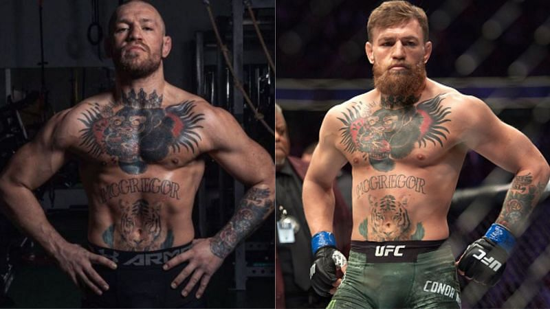Conor McGregor appears to be in the best shape of his life