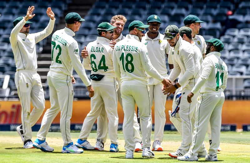 South Africa won their first Test series since 2019