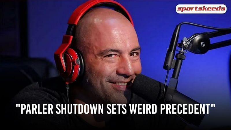 Joe Rogan recently spoke about the shutdown of Parler