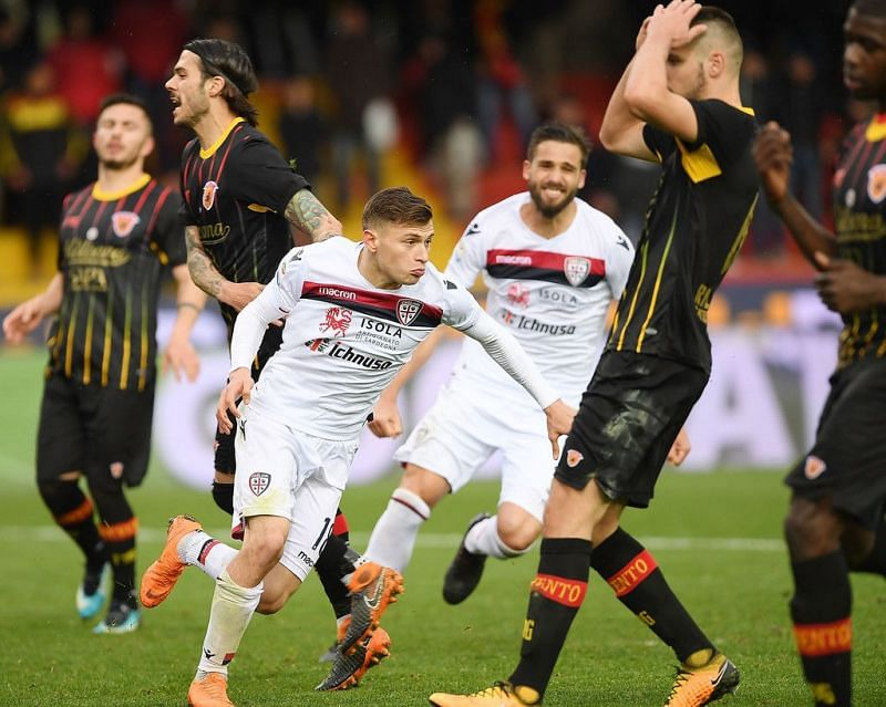 Cagliari and Benevento are set to clash in their Serie A fixture on Wednesday.
