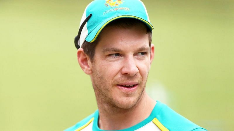 Tim Paine reacted to Sunil Gavaskar