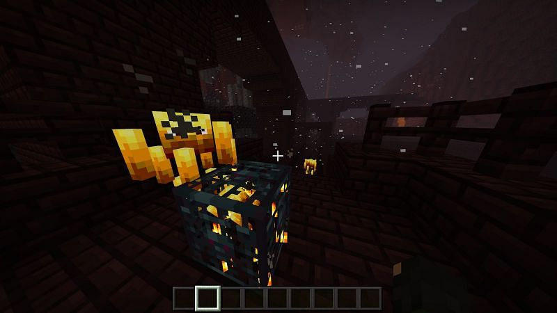 A blaze spawner can make your life much easier if you are lucky enough to find one