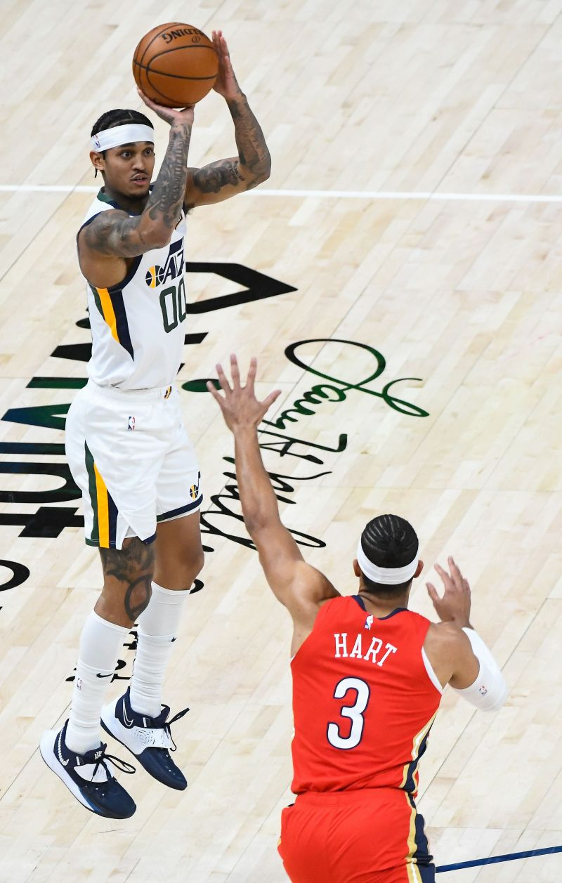 Utah Jazz star Jordan Clarkson