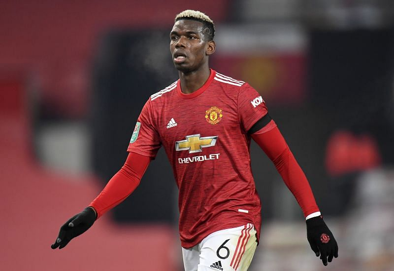 Manchester United were without Pogba for the visit of Watford