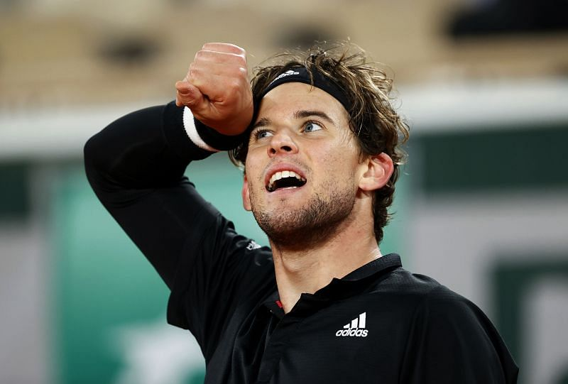 Dominic Thiem at the 2020 French Open