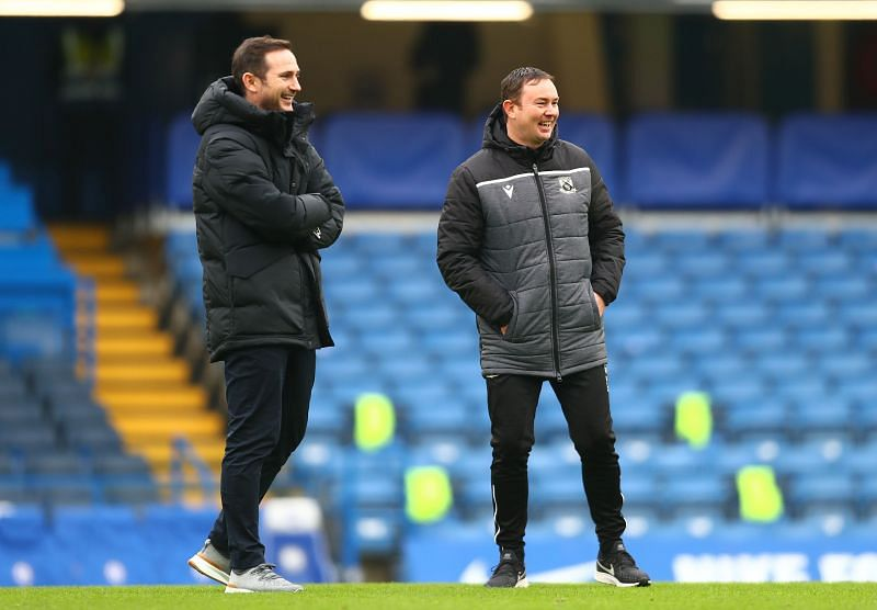 Chelsea manager Frank Lampard used their FA Cup game againstMorecambe to rotate his squad