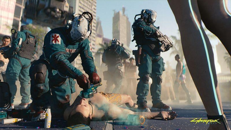 Cyberpunk 2077 hotfix 1.07 speculations (Image via CD Projekt Red)